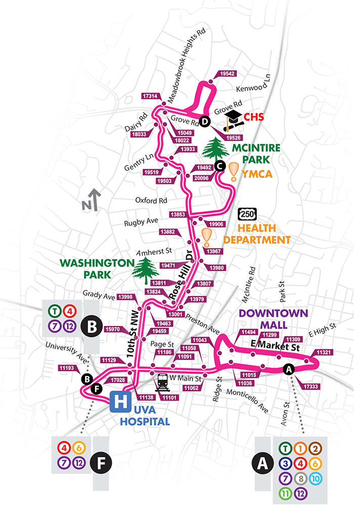 Route 9 Map