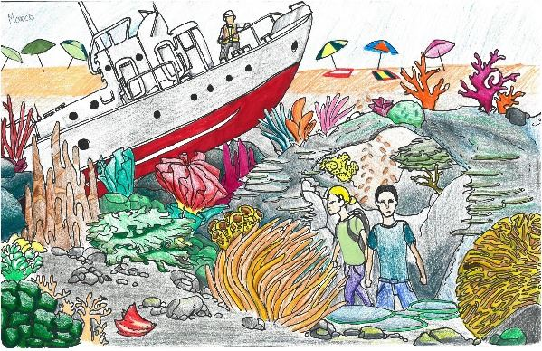 2016 Imagine a Day without Water Art Contest 7th – 8th Grade Winner Marco Lopez