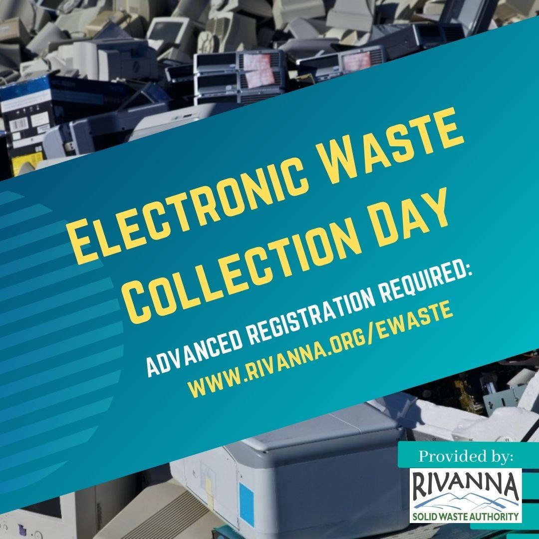 Announcement of Electronic Waste Collection Day & Notice of Need to Pre-Register