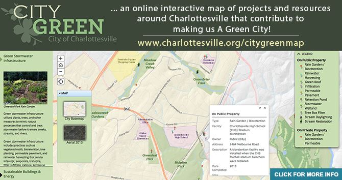 CityGreen Map